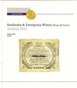 Banknotes & Emergency Money. Auction 21 bis / 8