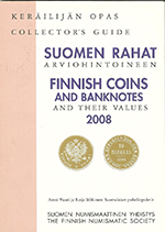Finnish coins and Banknotes and tyeir Values 2008 / 3