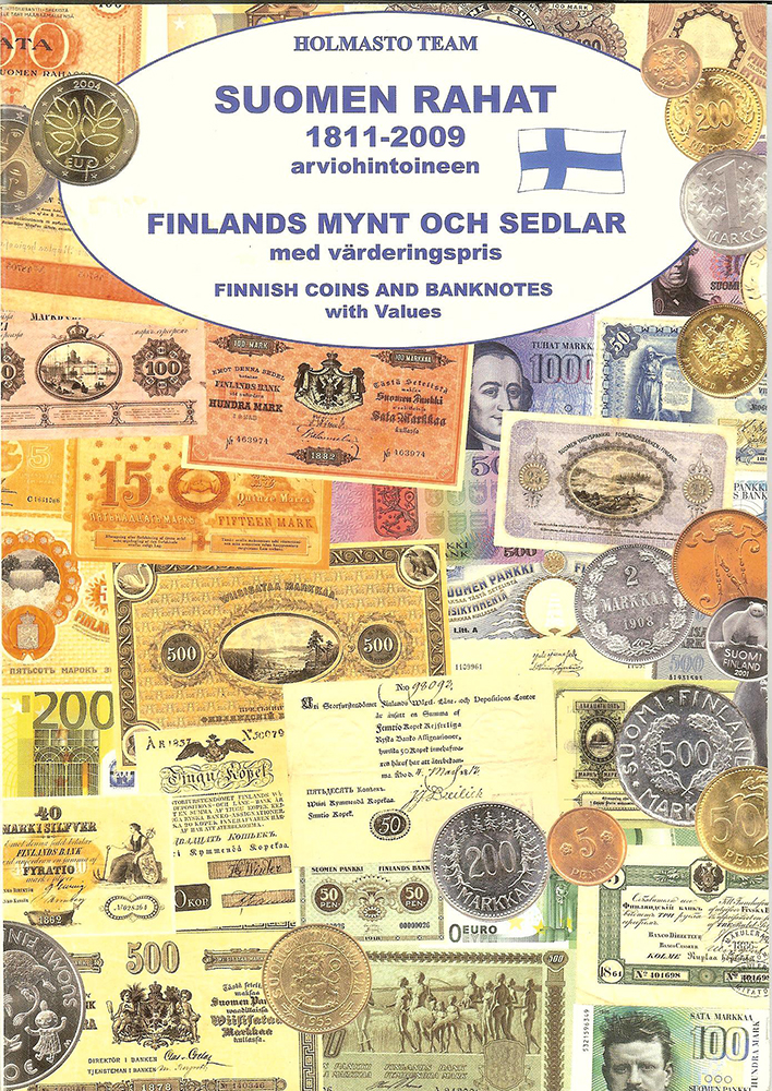 Holmasto: The Finnish money 1811-2009 estimate prices