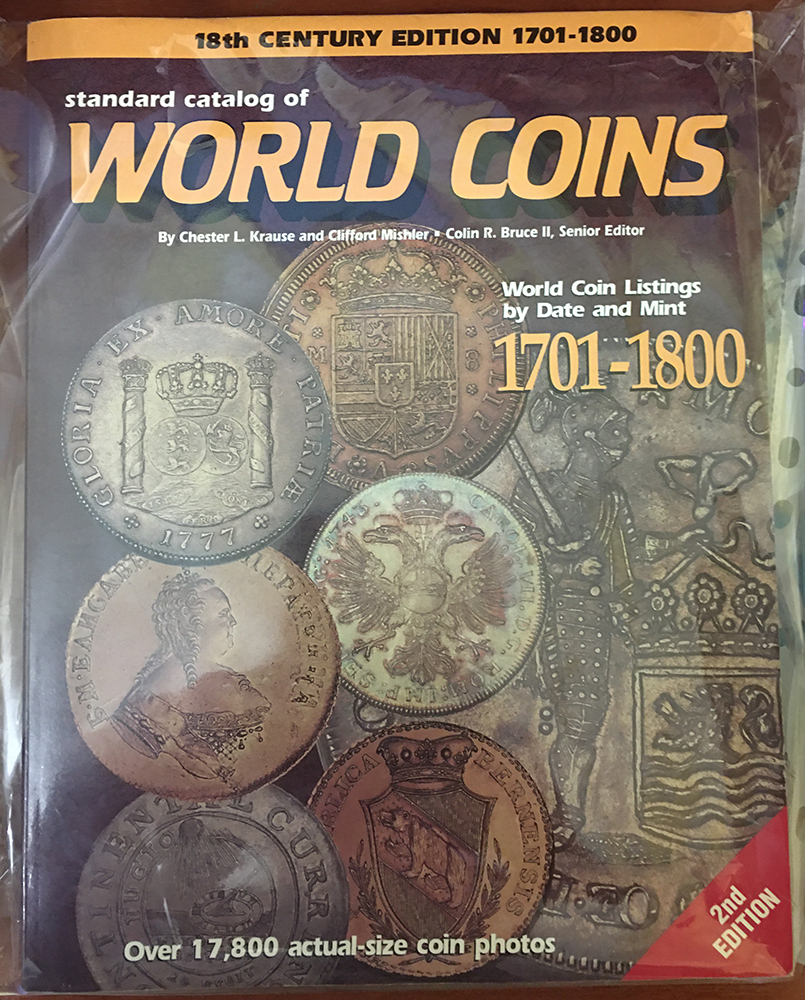 Standart Catalog of World Cois 1701-1800
